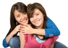 Beautiful sisters Stock Photography
