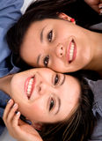 Beautiful sisters portrait Royalty Free Stock Photo