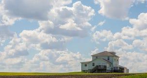 Beautiful Skies in Waterloo, Iowa Stock Photography