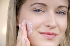 Beautiful skin Stock Image