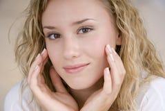 Beautiful skin Royalty Free Stock Photos