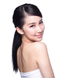 Beautiful Skin care woman Face Royalty Free Stock Photo