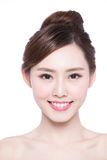 Beautiful Skin care woman Face Royalty Free Stock Photos