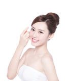 Beautiful Skin care woman Face Royalty Free Stock Images