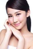 Beautiful Skin care woman Face Royalty Free Stock Image