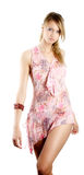 Beautiful skinny woman Stock Images
