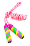 Beautiful skipping rope Stock Image