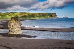 Beautiful Skogafoss waterfall in Iceland Royalty Free Stock Photography