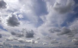 Beautiful sky. Would make a great background Royalty Free Stock Photos