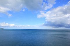 Beautiful sky above the sea. Beautiful sky above the sea at Samui Island Stock Photography