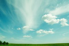 Beautiful Sky And Clouds Stock Photography