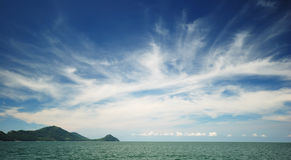 Beautiful sky in Andaman sea Royalty Free Stock Images
