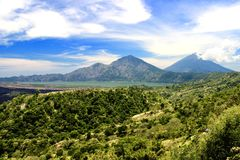 Batur Mountain stock images