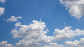 Beautiful sky with cloud Stock Photography