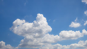 Beautiful sky with cloud Royalty Free Stock Photos