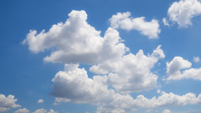 Beautiful sky with cloud Royalty Free Stock Photography