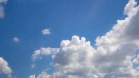 Beautiful sky with cloud Stock Image