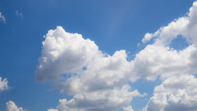 Beautiful sky with cloud Royalty Free Stock Image