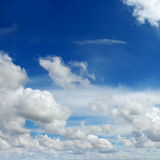 Beautiful sky and clouds Royalty Free Stock Photography