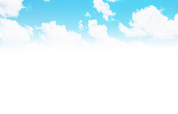 Beautiful sky clouds backgroun Royalty Free Stock Photos