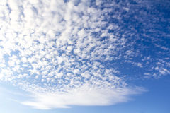 Beautiful sky with clouds. Beautiful blue sky with clouds Royalty Free Stock Photos