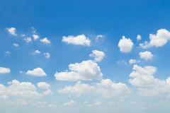 Beautiful sky with clouds Royalty Free Stock Photo