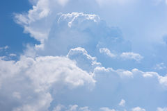 Beautiful sky with clouds in. The morning Stock Photo