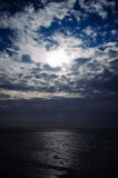 Beautiful sky and clouds over the  Azov  sea Royalty Free Stock Image