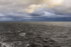Beautiful sky and clouds over Baltic sea. Stock Photography
