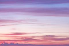 Beautiful sky, Dramatic sunset and sunrise. Stock Photo