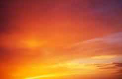 Beautiful sky. Stock Images