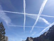 Beautiful sky royalty free stock photography
