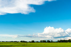 Beautiful sky when going outside Royalty Free Stock Photography