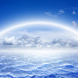 Beautiful sky, heaven Royalty Free Stock Photo