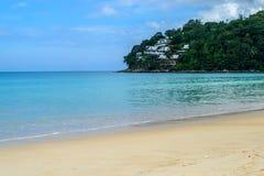 Beautiful sky at Kamala beach in Phuket Island. Thailand Stock Images