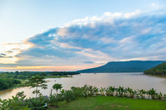 The beautiful sky landscape Stock Photo