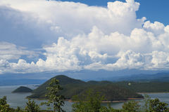 Beautiful sky and mountain Royalty Free Stock Photography
