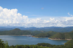 Beautiful sky and mountain Stock Photography
