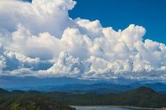 Beautiful sky and mountain Royalty Free Stock Photos