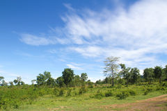 Beautiful sky and mountain Stock Photo