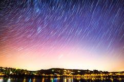 Beautiful sky at night Royalty Free Stock Photo
