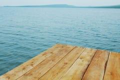 Wooden berth Stock Image