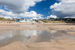 Praa Sands Cornwall England Royalty Free Stock Photography
