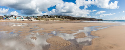 Praa Sands Cornwall England Royalty Free Stock Image