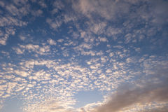 Beautiful sky. Scape with clouds Royalty Free Stock Photo