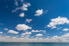 Beautiful sky and sea Royalty Free Stock Photography