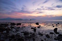 Beautiful sky before sunrise Stock Photo