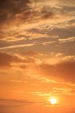 Beautiful sky in sunrise time Stock Photography