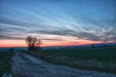 Beautiful sky after sunset. Stock Image
