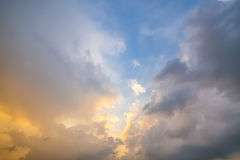 Beautiful sky Royalty Free Stock Photography